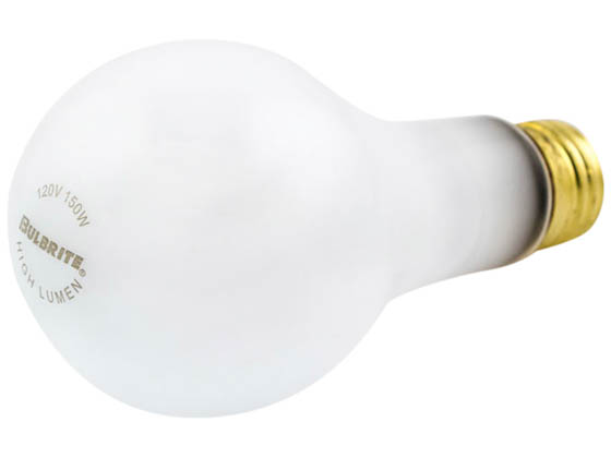 Bulbrite B100151 150A/HL 150W 120V A21 Frosted E26 Base