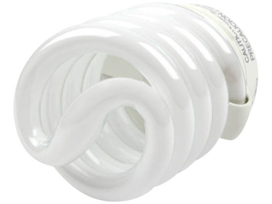 TCP TEC48923-41K 4892341K 23W Cool White Spiral CFL Bulb, E26 Base