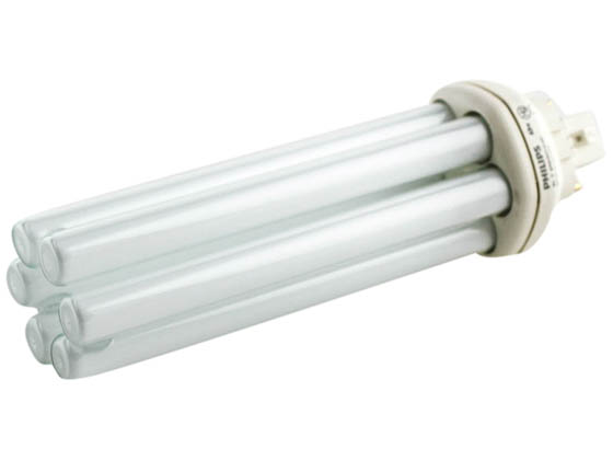 Philips Lighting 149039 PL-T 42W/41/4P/ALTO  (4-Pin) Philips 42W 4 Pin GX24q4 Cool White Long Triple Twin Tube CFL Bulb