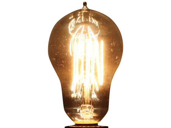 Bulbrite B132515 NOS25A15/SQ/E12 25W 120V A15 Nostalgic Decorative Bulb, E12 Base