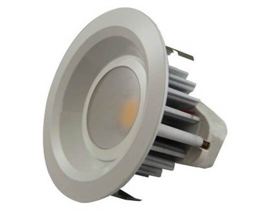 "MaxLite 71778 RR40930W 50W Halogen Equivalent, 9 Watt Dimmable, 3000K, 4"" LED Recessed Downlight Retrofit"