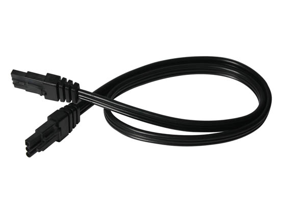 "American Lighting LUC-EX24-BK 24"" Linking Cable for LED Contrax Undercabinet Fixture - Black"