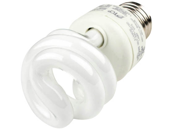 TCP TEC801009-35 80100935K 9W Neutral White Spiral CFL Bulb, E26 Base