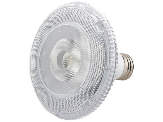 TCP LED12P30SD30KFL Dimmable 10W 3000K 40° PAR30S LED Bulb, Wet Rated