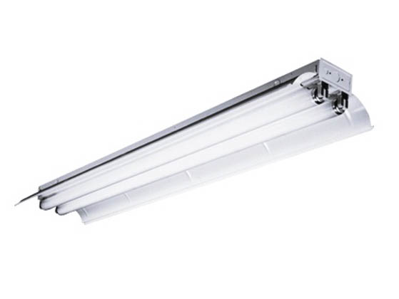 8\' Industrial Fluorescent Fixture for Two F96T8 Lamps | CSR8-296T8 ...