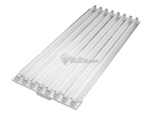 TCP MG4RA632UNIH10CSPF 4' Fluorescent High Bay Fixture Ignites Six F32T8 Lamps of 120-277 Voltages