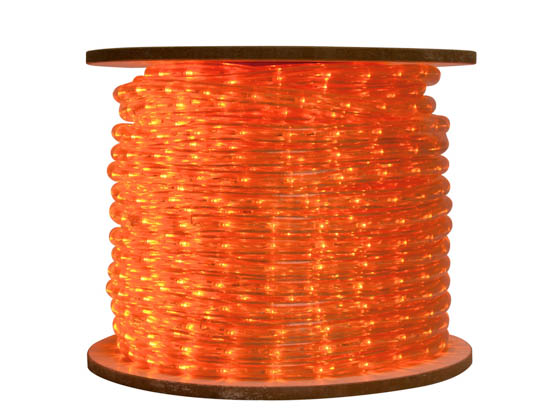 American Lighting LED-DL-AM-150 150' LED Rope Light Reel - Amber