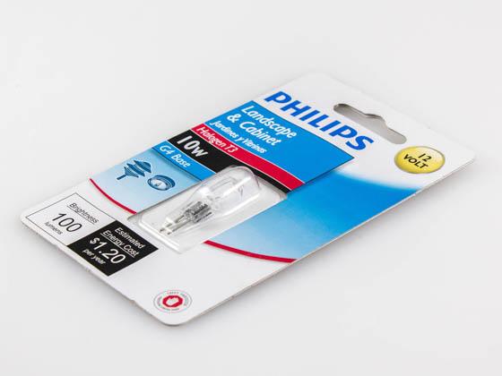 Philips Halogen Landscape Lighting T3 12-Volt Light Bulb 3000-Kelvin 10-Watt