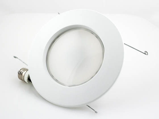 "TCP LED12DR5627K Dimmable 12W 2700K 5"" or 6"" Recessed LED Downlight"