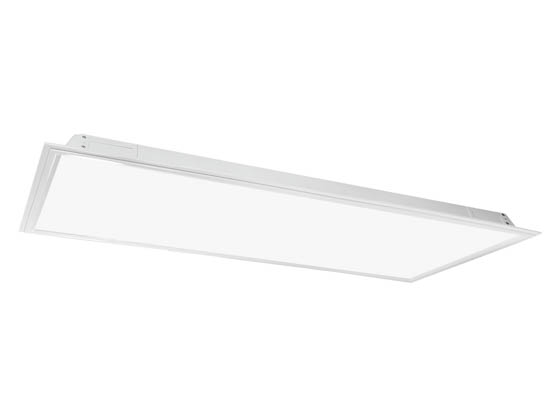 MaxLite M72584 MLFP24DS4241 42 Watt, 2x4 ft Dimmable Recessed Direct Lit Flat Panel LED Fixture, 4100K