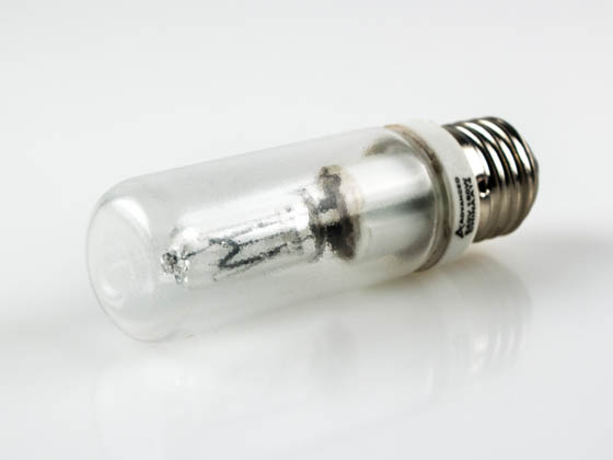 Advanced Lamp Coatings 150T10-CL-240V-AL-TSG 150W240VE27JTT (240V, Safety) 150 Watt, 240 Volt JTT (European Style) Halogen Safety Coated Clear Bulb with EUROPEAN Medium Base (E27). WARNING:  THIS BULB IS NOT TO BE USED NEAR LIVE BIRDS.