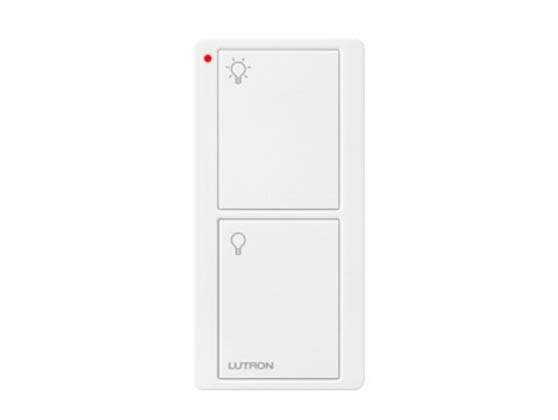 Lutron Electronics PJ2-2B-GWH-L01 Lutron Pico Wireless Control, 2 Button, On and Off