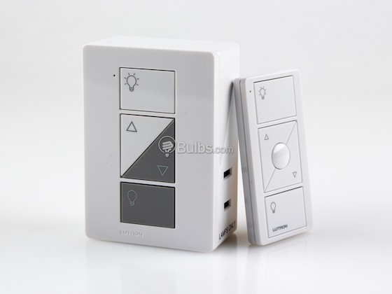 Lutron Electronics P-PKG1P-WH Lutron Caseta Wireless Plug-in Dimmer and Pico Remote Kit