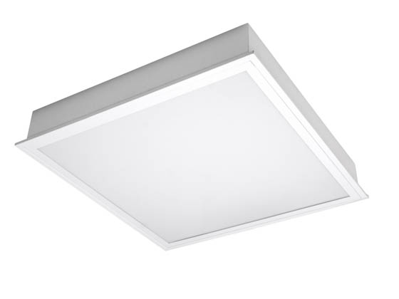TCP TCPTRF2UNI4030K 45 Watt, 2x2 ft Non-Dimmable Recessed LED Troffer Fixture, 3000K