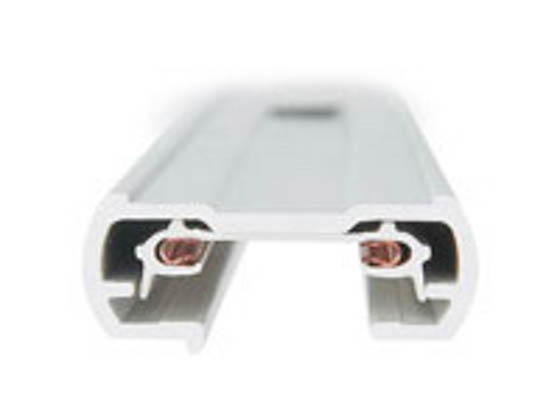 Philips Lighting 9104WH Philips Lightolier Lytespan 4' Radius Track, Matte White