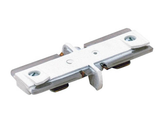 Lightolier 9149WH Lytespan Radius Track Mini Coupler, Matte White