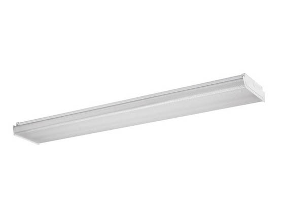Philips Lighting OWL440L840-UNV-DIM Philips Day Brite Dimmable 37W 4' Linear LED Wraparound, 4000K