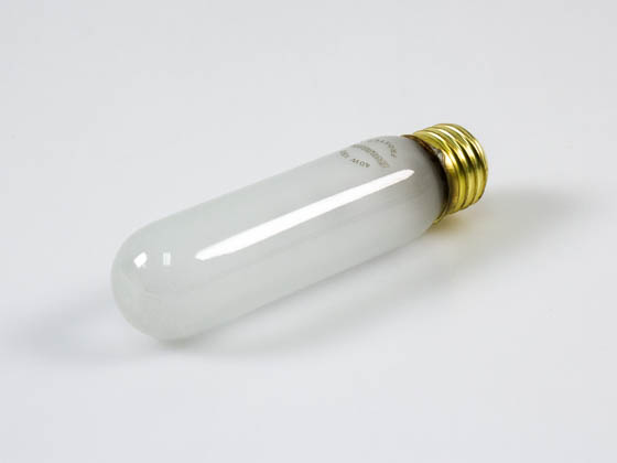 Bulbrite 704040 40T10F 40W 130V Frosted 40T10 Incandescent Bulb, E26 Base
