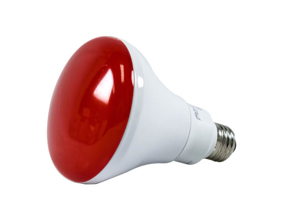 TCP LED12BR30DRD Dimmable 12W 120V Red BR30 LED Bulb