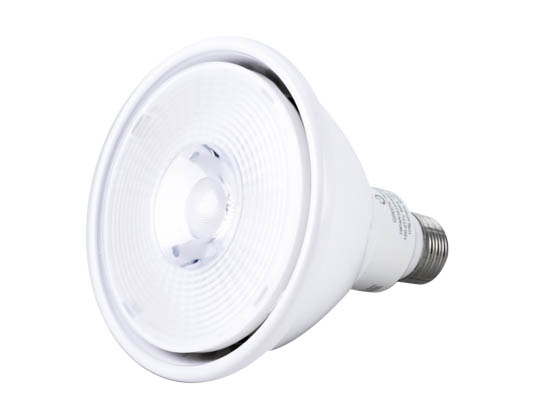 Green Creative 97772 19PAR38HO/830NF25/277V Non-Dimmable 19W 120 to 277V 3000K 25° PAR38 LED Bulb