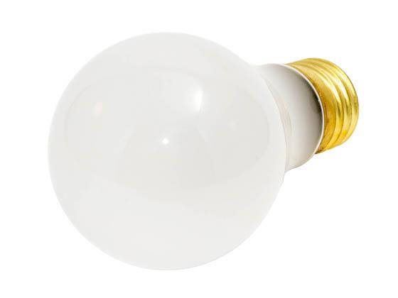 Vibration Resistant 48 Pk 60 Watt Long Life Light Bulb Rough Service Warm White