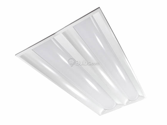 MaxLite 74340 MLVT24D4535 42 Watt, 2x4 ft Dimmable Recessed Lay-In LED Panel Fixture, 3500K