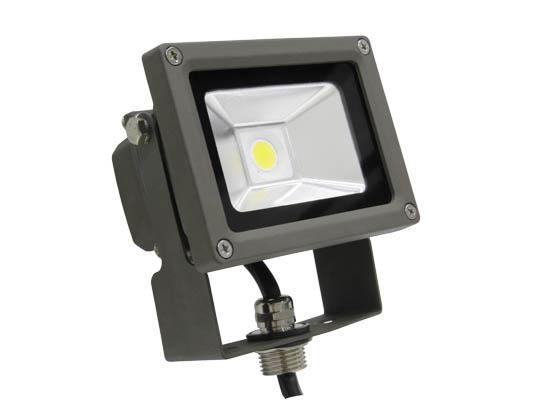 MaxLite 77088 FLS15U50B 15 Watt Small LED Flood Light Fixture - Wide Light Distribution
