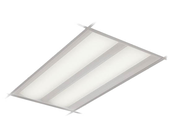 Philips Lighting 2DLG43L835-4-D-UNV-DIM Philips DuaLED Dimmable 41W 3500K 2x4 ft Recessed LED Troffer