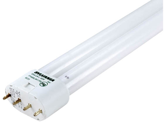 Sylvania 40w 4 Pin 2g11 Cool White Long Single Twin Tube