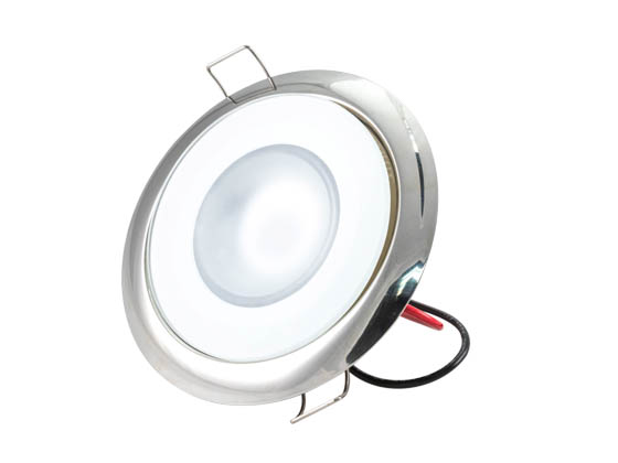 Lumitec Lighting 113119 Mirage FMDL HCRI White Mirage Marine Down LED Light Warm White Dimming