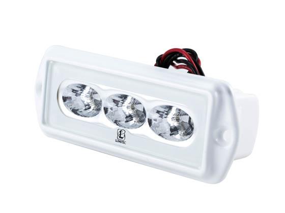 caprilt flush mounted marine flood led light white output caprilt