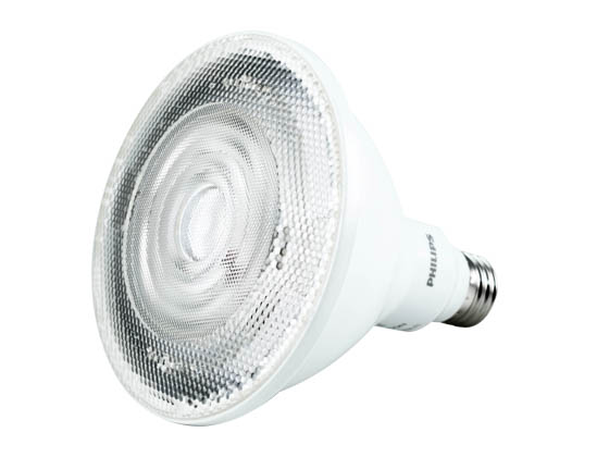 Philips Lighting 461046 12PAR38/LED/850/F35/DIM ULW SO 120V Philips Dimmable 12W 5000K 35° PAR38 LED Bulb, Wet Listed