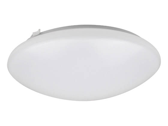 NaturaLED 7156 LED12FMR-110L850 Dimmable 14W 12in 5000K Flush Mount LED Ceiling Fixture