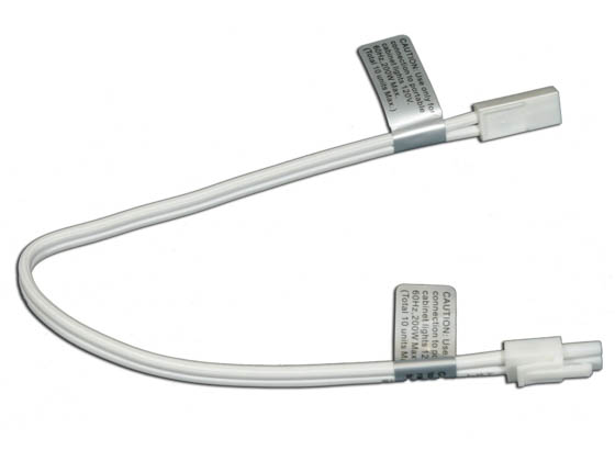 "American Lighting ALLVPEX24WH-B 24"" Linking Cable For MVP LED Puck Lights, 120 Volt - White"