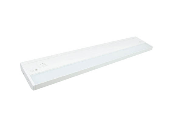 "American Lighting ALC2-12-WH 12 1/4"" 4 Watt LED Undercabinet Light Fixture - White"