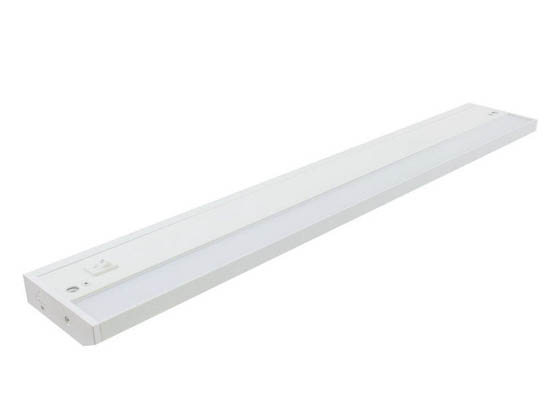 "American Lighting ALC2-24-WH 24 1/4"" 8 Watt Dimmable LED Undercabinet Light Fixture - White"
