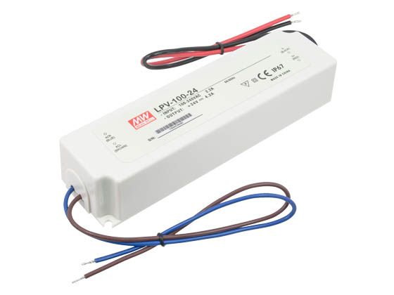 American Lighting LED-DR150-24 Hardwire Non-Dimmable LED Driver, 24V, 150 Watt Maximum, For TRULUX 24V Standard and High Output LED Tape Light
