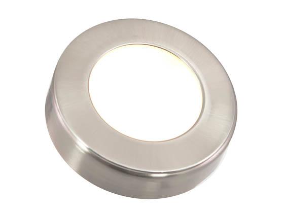 american lighting 9 6 watt 12v omni led 3 puck light kit nickel