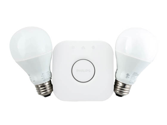 Philips Hue White A19 Led Starter Kit