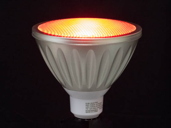 Kobi Electric K7L1 LED-PAR38-200NDO-R Kobi 7 Watt, Non-Dimmable 120 Volt 35 Degree Red PAR38 LED Bulb, Wet Rated
