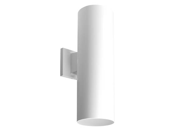 Progress Lighting P5642-30/30K LED Cylinder Outdoor Fixture, White