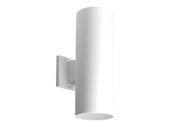 Progress Lighting P5675-30/30K LED Cylinder Outdoor Fixture, White