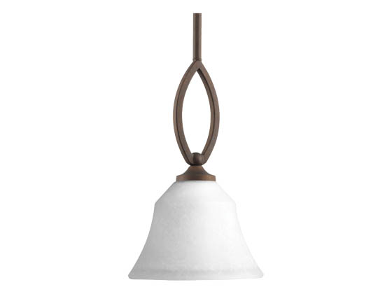 Progress Lighting P5621-102 One-light Mini-Pendant
