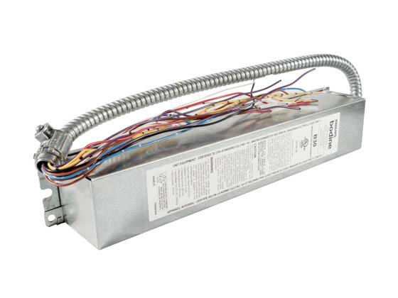 Bodine B30 Philips B30 Linear Fluorescent Emergency Ballast For 1-2 Lamps, 17-215 Watts, 900-3500 Lumens