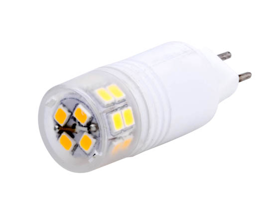 Bulbrite 770560 LED3GY6/SW/D Dimmable 3W 3000K T4 LED Bulb, GY6.35 Base