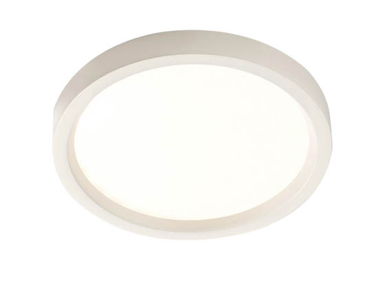 "Lightolier S5R830K7 SlimSurface Dimmable 9.5W 3000K 5"" Round LED Downlight"