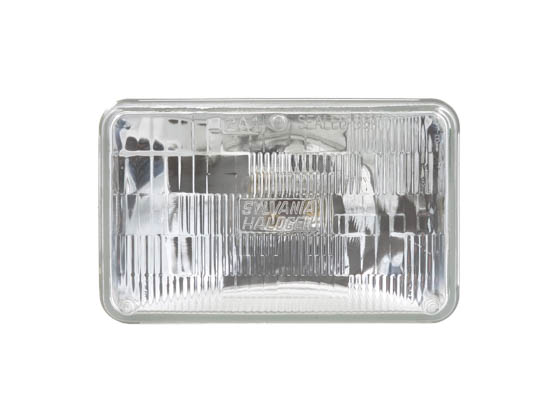 Sylvania 30877 H4656 LL 2AH PK 6 H4656 Long Life Sealed Beam Auto Bulb