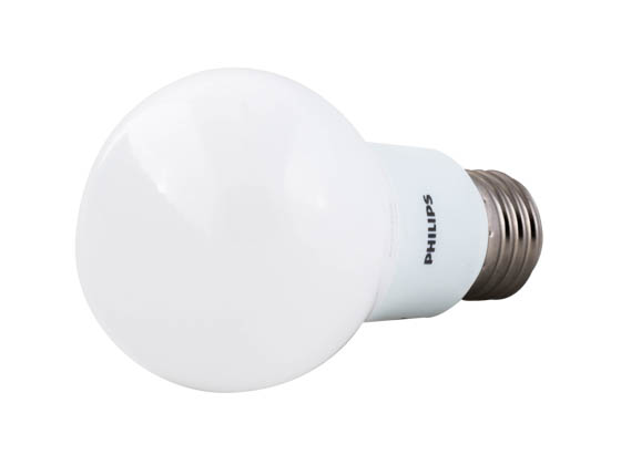 Philips Lighting 455501 8.5A19/LED/827 ND 120V Philips Non-Dimmable 8.5W 2700K A19 LED Bulb