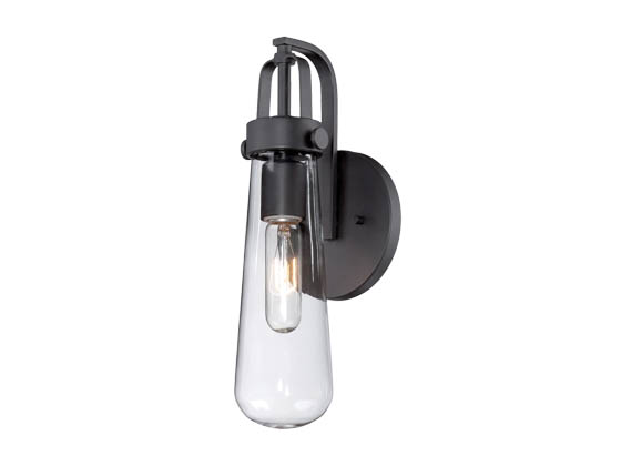 Nuvo Lighting 60-5361 Nuvo Vintage - 1 Light Sconce w/Clear Glass - Vintage Lamp Included
