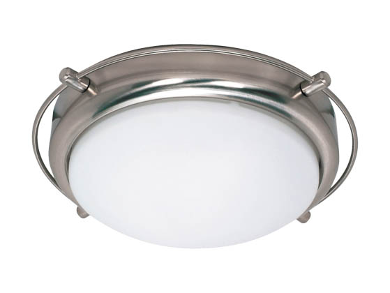 Nuvo Lighting 60-608 Nuvo - 2 Light Close-to-Ceiling Dome Flush fixture